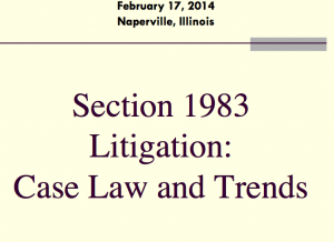 Section_1983_ caselaw_trends_2014
