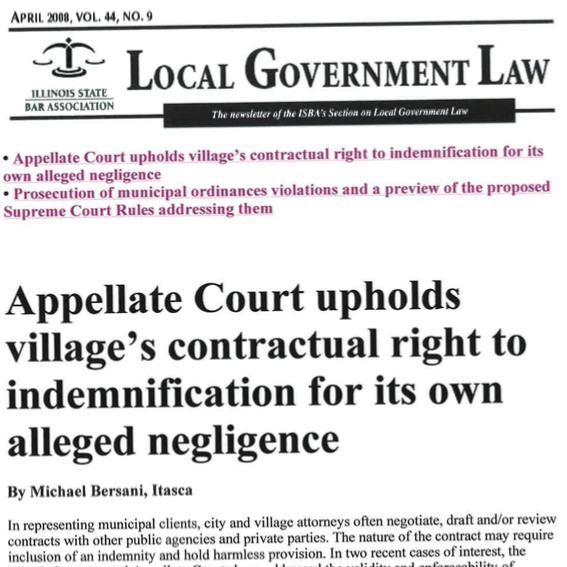 appelate_court_village_indemnification