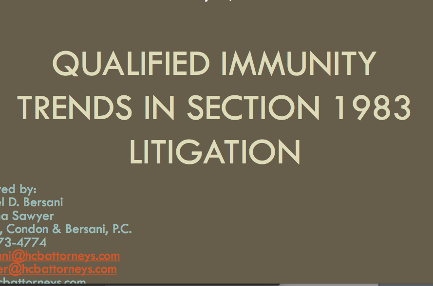 section_1983_qualified_immunity_trends