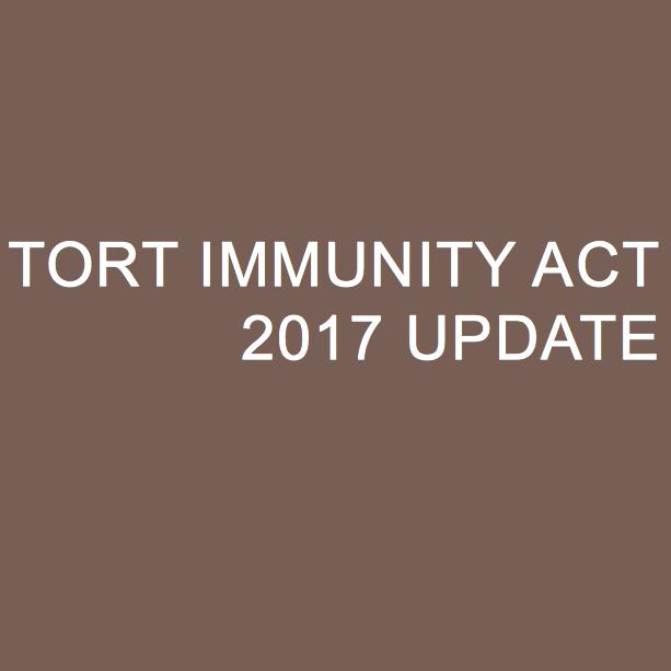 Tort Immunity 2017